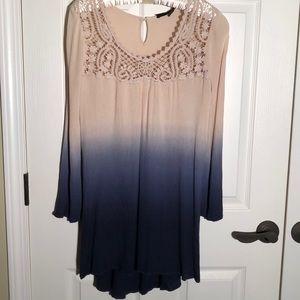 Blu Pepper dress size med.  E